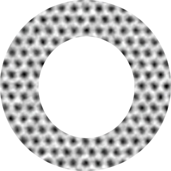 The Ehrenberg–Siday–Aharonov–Bohm effect in graphene rings